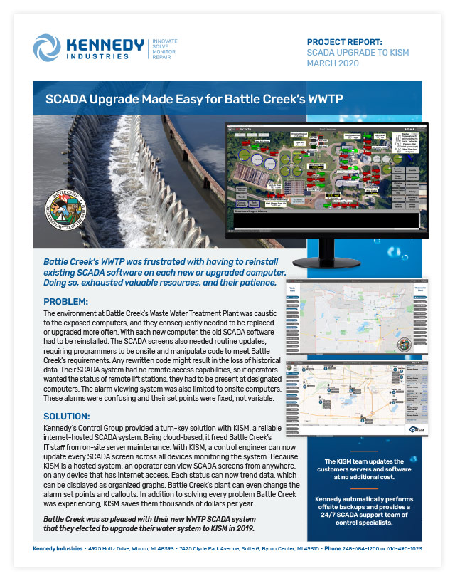 Project Report - Battle Creek KISM 3/20